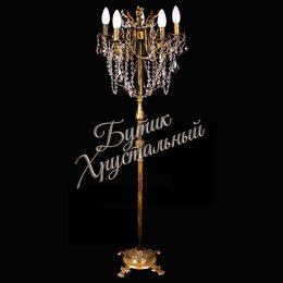 Торшер Бронза 5 свечей