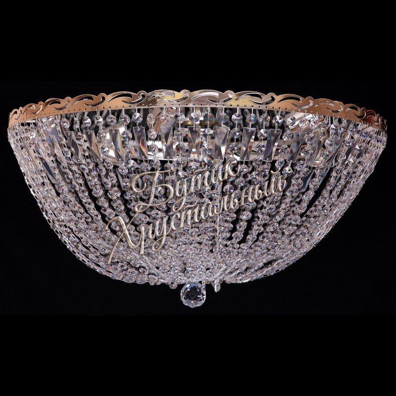 Хрустальная потолочная люстра «Анжелика Купол »