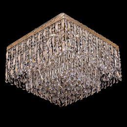 Kвадрат Пластина 5 ламп