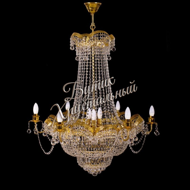 """Люстра """"Султан-бронза 18 ламп"""""""