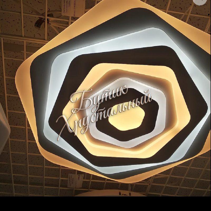 Светодиодная фигурная люстра LED- 061202018