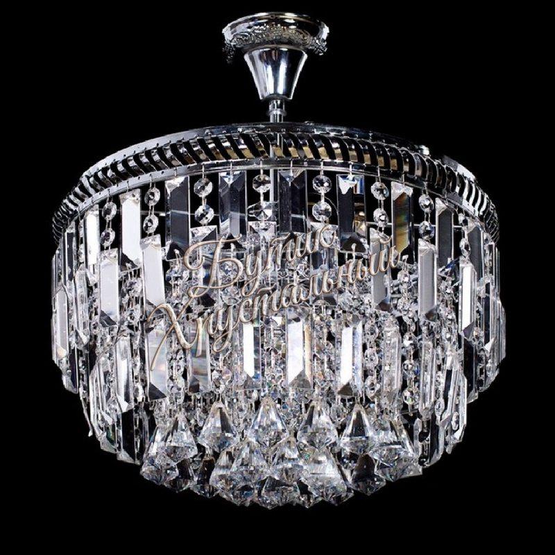 Хрустальная подвесная люстра Кольцо с подвесом №67 Пластина