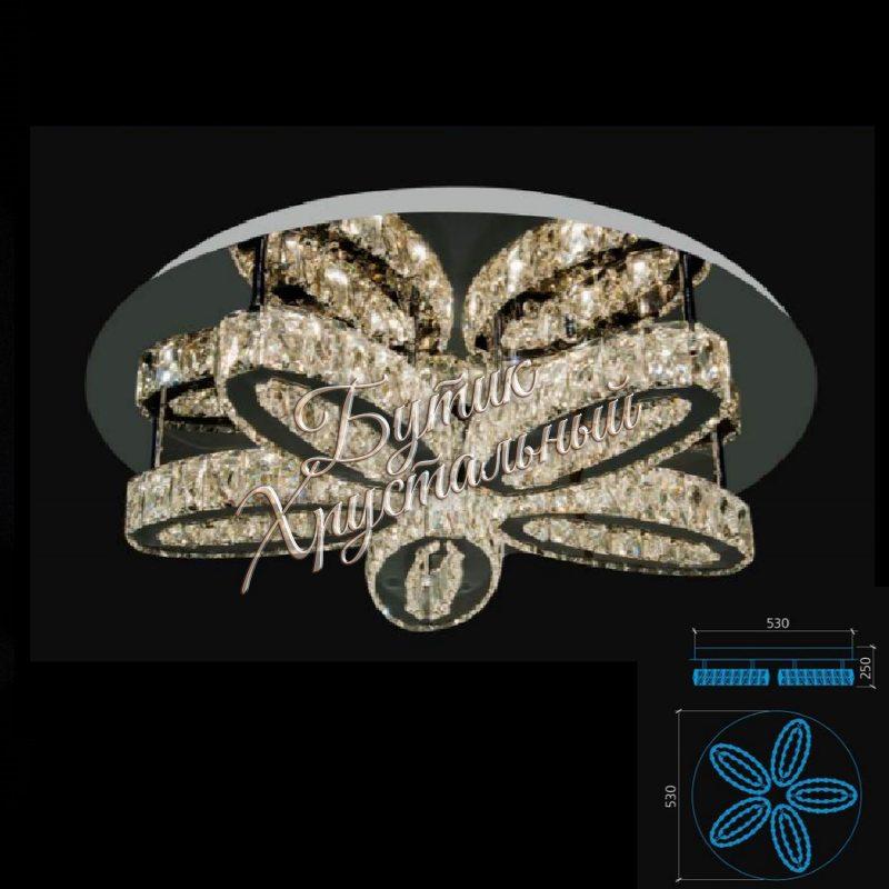 Светодиодная потолочная, с кристаллами LED 2200002
