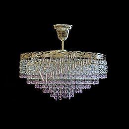 Капель 3 лампы Розовая с подвесом