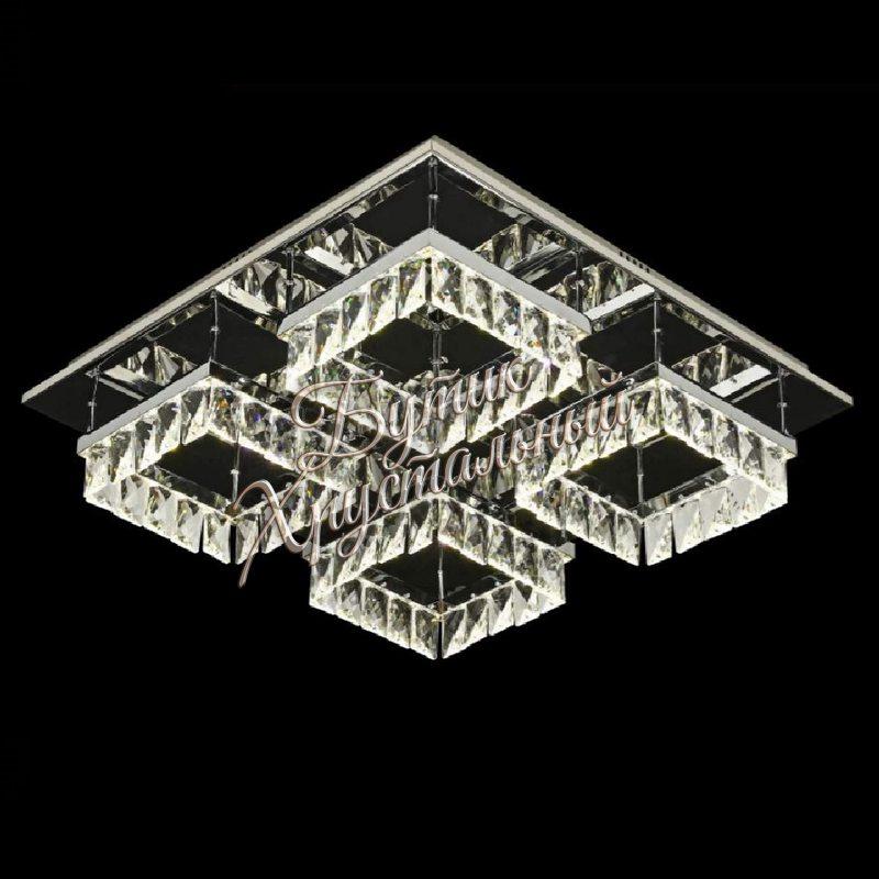Светодиодная потолочная, с кристаллами LED 2200010 люстра