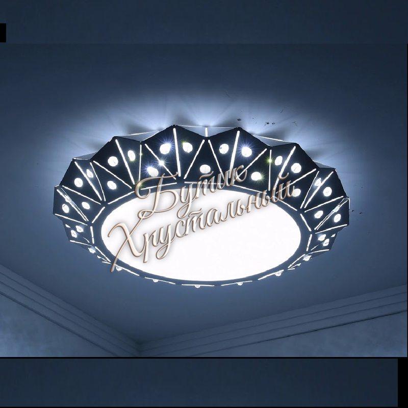 Светодиодная потолочная люстра LED - 0011 в интерьере